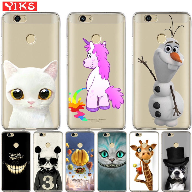 unicorn panda Case For Huawei Nova 2 plus Nova 3E Cover For Huawei Y3 Y5 Y6 II 2 Y3 Y7 2017 Y6 Pro