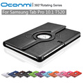 360 Rotating PU Leather cover case for Samsung Galaxy Tab Pro 10.1 with stand function SM-T520 SM-T521 Tablet cover sleeves