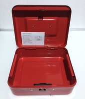 15cm 12cm 8cm Password Steel Small Safe Boxes Store Content Box Paper Piggy Small Change Bank