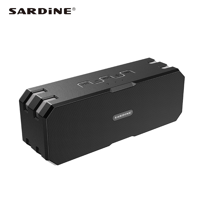 Sardine F4 waterproof <font><b>bluetooth</b></font> speaker support TF card MP3 AUX 5200mAh high power portable <font><b>sound</b></font> <font><b>box</b></font> for computer and phones