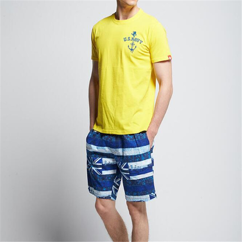 Topdudes.com - Men's Summer Fashion Quick-dry Cotton Loose Beach Short Pants