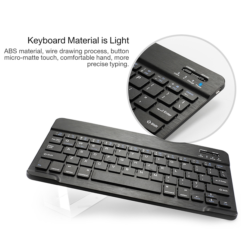 Image 2 - Bluetooth keyboard case for Samsung Galaxy Tab A 10.1 inch 2019  tablet SM T510 SM T515 Removable wireless keyboard tablet coverTablets