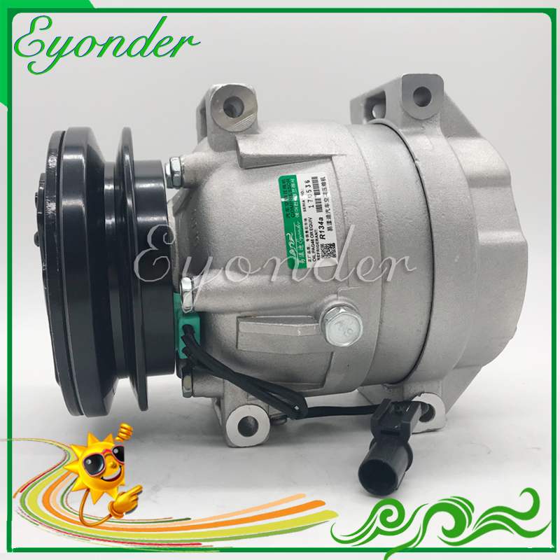 A C Air Conditioning Compressor Cooling Pump 24V for Hyundai Machinery EXCAVATOR loader LC 220 11Q6