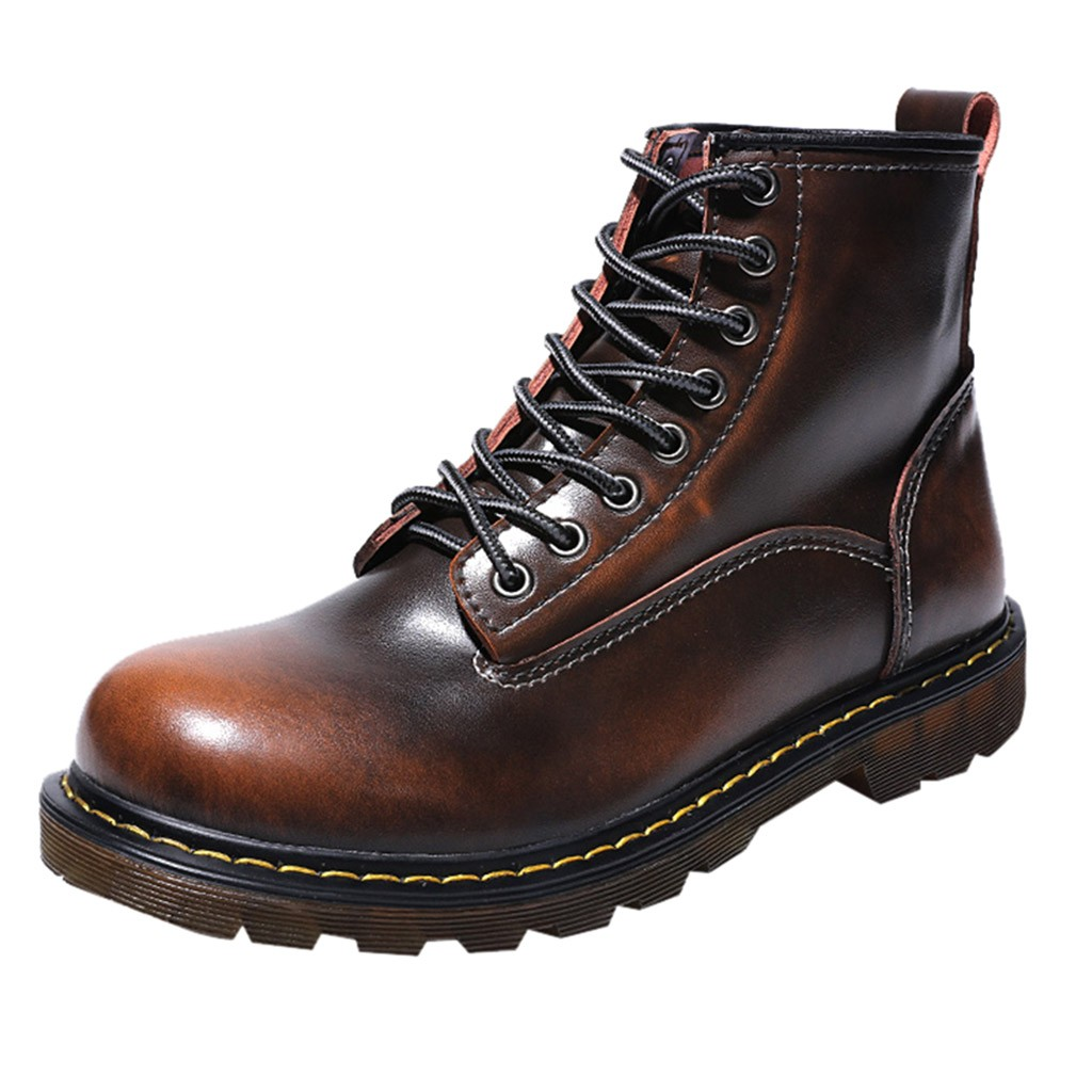 Work & Safety Boots Back To Search Resultsshoes Humor Mens Ankle Boot Genuine Leather Spring Autumn Casual Safety Boots Outdoor Male Steel Toe Cap Work Shoe Footwear Walking Shoes
