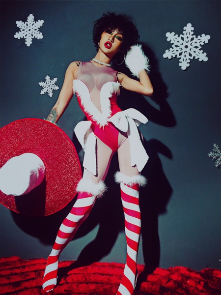 Partie Creux Danse Salopette Chanteur Noël Usure Photo Sexy De Body Chapeau Bandage Baalmar Bar Costume Rouge Danseur Dj Color Ds Discothèque UMVqGpSz