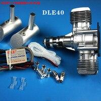 DLE новый оригинальный DLE 40CC бензин/бензин двигатель двухцилиндровый DLE40 для самолета