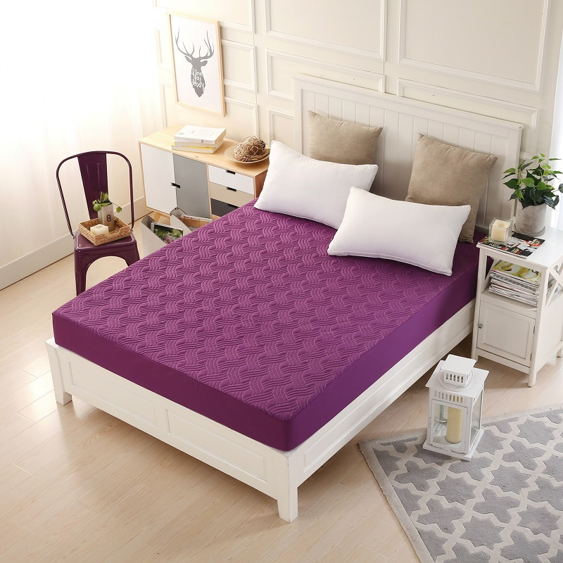 Thick covers for mattresses separated solid mattress protector bed pad Home Anti Dust Mite Air Permeable