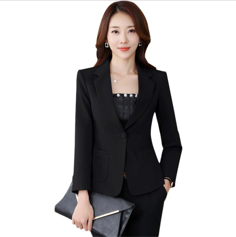 Yuxinfeng Spring Blue Velvet Blazer Women Button Doule Breasted Fashion Elegant Ladies Office Work Suit Blazer Coat Slim Jacket In Short Supply Back To Search Resultswomen's Clothing Suits & Sets