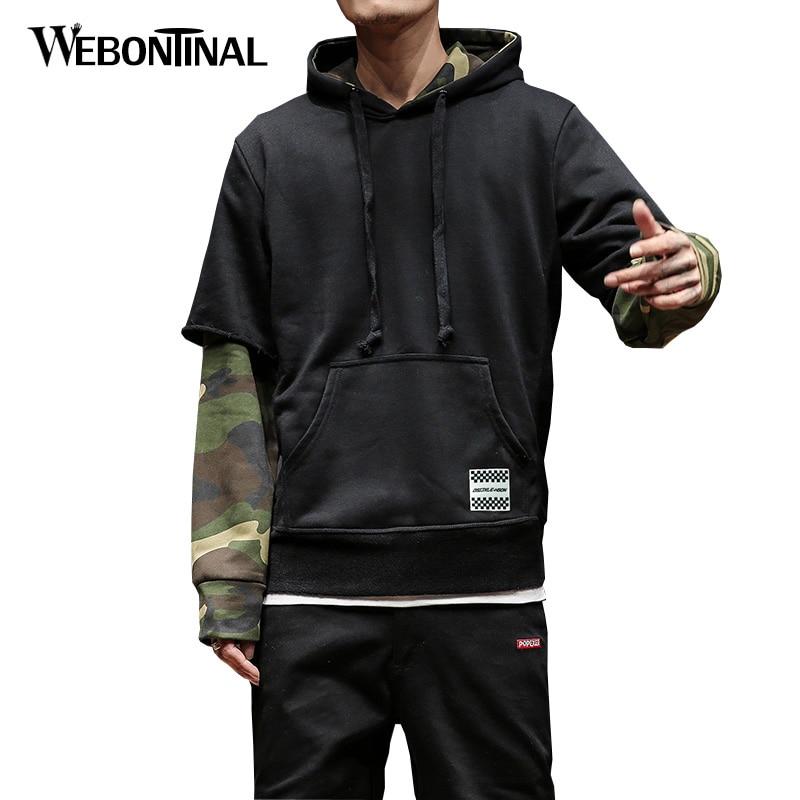 Autumn Winter Hoodie Male Cardigan Hombre Hip Hop Sweatshirt Men Hoodies moleton masculino Mens Hooded Pullover Tracksuit W18105