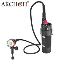 ARCHON DH160/ WH166 LED Canister Diving Light Underwater LED Dive Torch 150M Waterproof