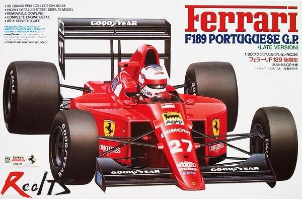 RealTS Tamiya 20024 1/20 F189 Portuguese GP Late