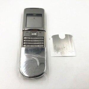 Image 3 - RTBESTOYZ สำหรับ Nokia 8800SE 8800 Sirocco ใหม่เต็มรูปแบบฝาครอบกรณีรัสเซียคีย์บอร์ด Silver จัดส่งฟรี