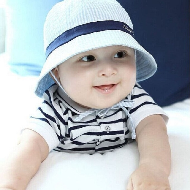 62f8a2cd0e885 Bnaturalwell Baby Girls Boys Reversible Bucket Hat Toddler panama Hat  Sewing Pattern Beach Panama Hat With