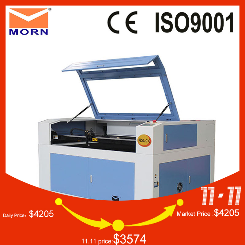 MT L1390 CNC laser engraving cutter machine with long lifetime RECI laser tube cutting engraving nonmetal CNC machine