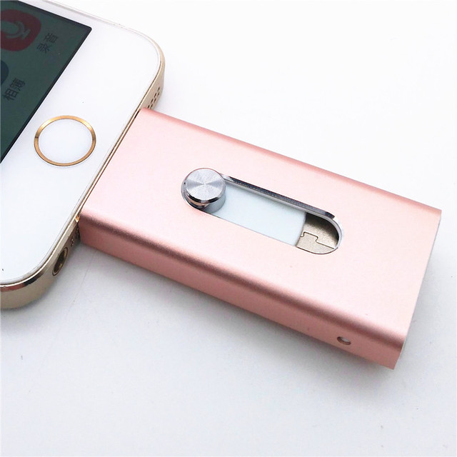 i-Flash Drive Phone OTG USB Flash Drive for iphone 6/5 ipad lightning Pen drive 8g 16gb 32gb 64gb iFlash Driver + Micro usb