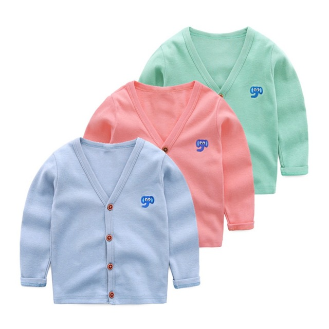 2-7 Age LittleSpring Children Sweater Kids Knit Cardigan 2017 New Arrival Autumn Boys Long Sleeve Casual Sweater Girl Outerwear