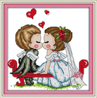 A Kissing of Angels ...