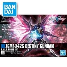 цена на Original Japaness Gundam Model HG 1/144 SEED DESTINY GUNDAM  Mobile Suit Kids Toys