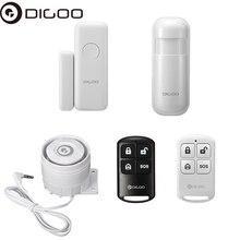 Digoo DG-HOSA 433MHz External Speakers Wired Alert Siren Kit