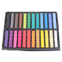 F9s Hair Care 24 Colors Hair Chalk Popupar Temporary Hair Color Beautiful Convenient Super Hair