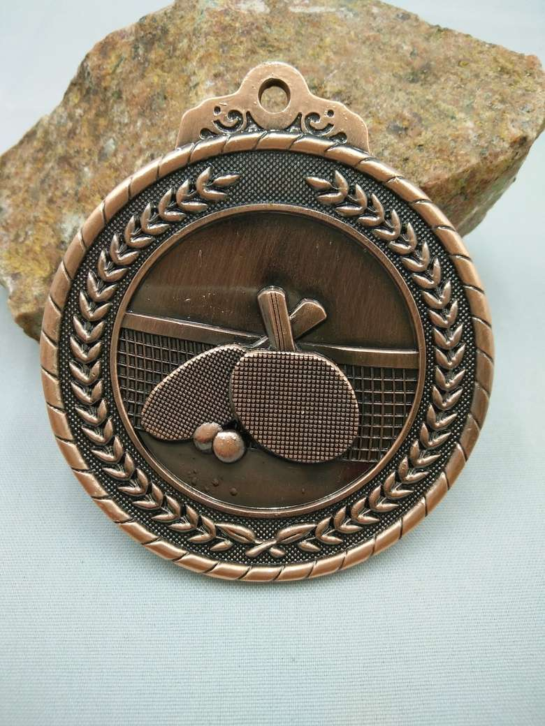 Novelty ornaments - Table Tennis Medal Ancient Russian Album For Coins House Ornaments Novelty Funny Birthday Gift Girl Set Currency Free Shipping