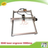 5500MW Desktop DIY Violet LY 5040 Laser Engraving Machine Picture CNC Printer 50 40CM