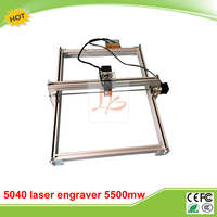5500MW Desktop DIY Violet LY 5040 Laser Engraving Machine Picture CNC Printer 50 40CM
