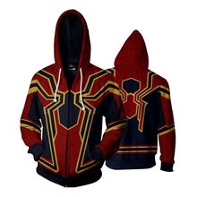 COSREA Spider man Cosplay Costume 3D Printing Avengers Homecoming Iron For Man