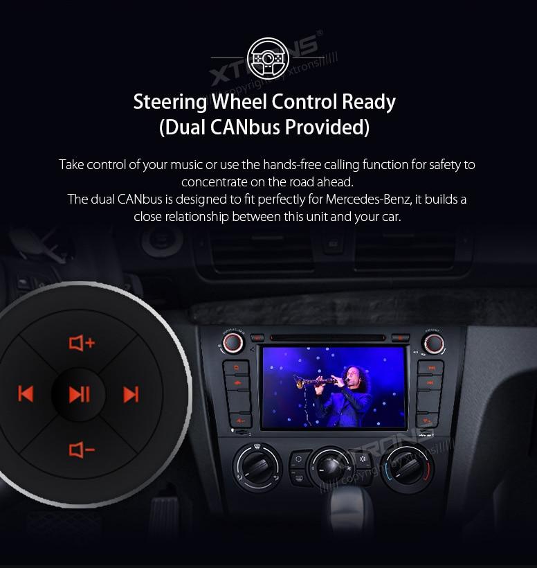 7″ Android 7.1 OS Car DVD for BMW E81 2007-2012 & BMW E82 2007-2013 & BMW E88 2007-2014 with 2GB RAM & Built-in HDMI Output