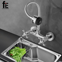 fiE Kitchen Faucet Mixer Cold And Hot Kitchen Tap Single Hole Water Tap Torneira Cozinha