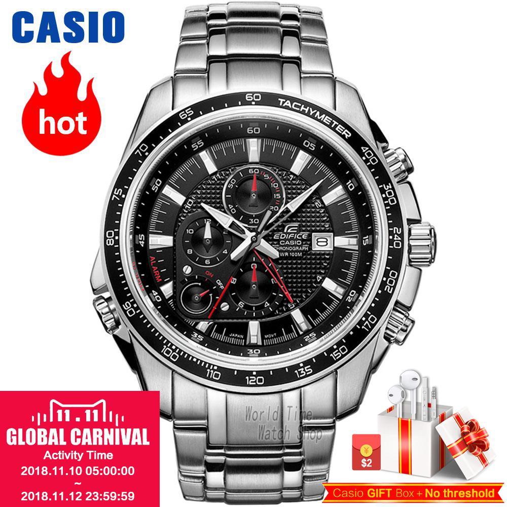 Casio watch quartz waterproof three-dimensional dial fashion sports male watch EF-545D-1A EF-545D-7A EFB-104SBD-1A EFB-104SBB-1A casio ef 530p 7a