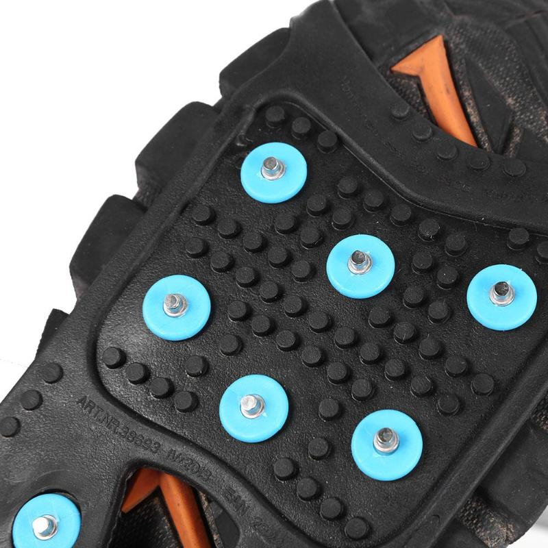 11 Studs Crampons Spikes Ice Snow Grips Anti Slip Cleats Outdoor Shoe Boot