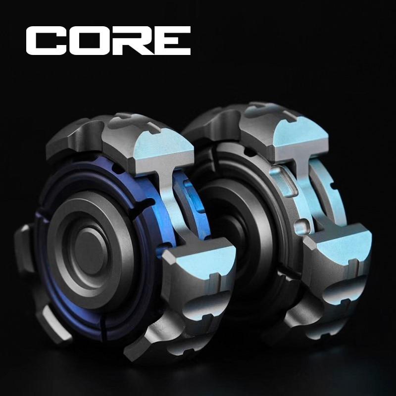 Fingertip Gyro Core Armored Core Titanium Alloy EDC Decompression Toy