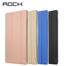 Rock para ipad pro pulgadas tablet PC ultrafino holsteins dormancy funda inteligente(China)