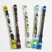 Caneta criativa presentes das crianças boligramos dos desenhos animados penspinning bola ponto esferográfica canetas canetas material escolar bonsticks