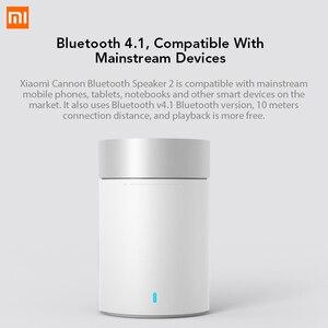 Image 3 - Xiaomi altavoz inalámbrico con Bluetooth 4,1, Mini altavoz metálico manos libres con micrófono y batería de litio integrada