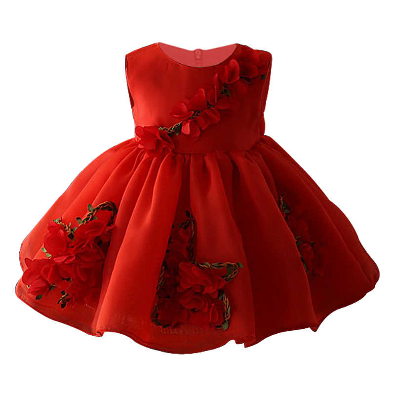 782bf1ef48 Baby Girl Dresses for Wedding party 0 1 2 3 4 5 years kids girls ...
