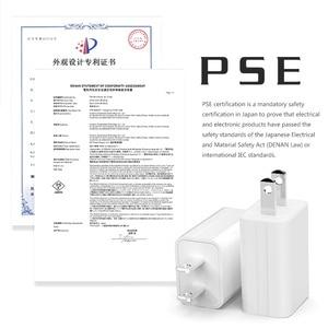Image 3 - 5V1A Caricatore 1 Porta USB Adattatore Giappone Stati Uniti di Corsa Della Parete Piccolo Telefono Cellulare PSE Certificazione Elettronico Spina di Ricarica