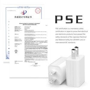 Image 3 - 5V1A chargeur 1 Port USB adaptateur japon états unis voyage mur petit téléphone portable PSE Certification prise électronique charge