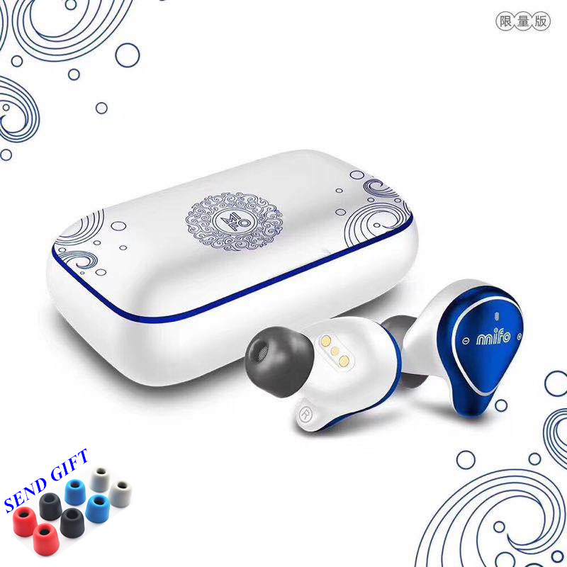 Mifo O5 Bluetooth 5 0 True Wireless Bluetooth Headset Binaural Mini Earbuds In Ear HIFI IPX7