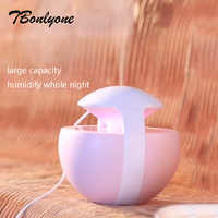 TBonlyone 450ML Ball Nightlight Humidifier WaterSolubility Oil Diffuser Essential Oil Diffuser Air Aroma Diffuser Air Humidifier