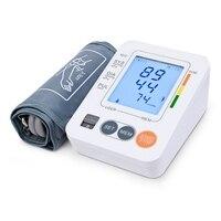 Arm Blood Pressure Monitor Portable Digital LCD Medical Equipment Sphygmomanometer Large Cuff Blood Pressure Meter
