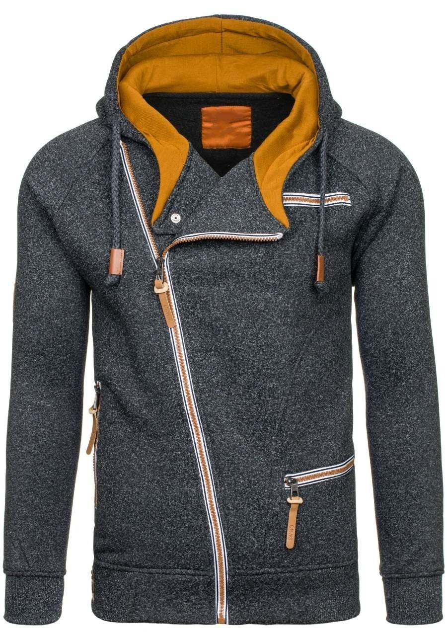 HTB159iEXTjxK1Rjy0Fnq6yBaFXaJ - Men Hoodies Sweatshirt 2019 Spring New Unique Diagonal Zipper Fashion Simple Loose Casual Hooded Streetwear Men Tracksuits Coat
