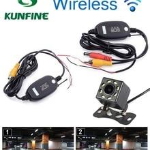 Универсальная беспроводная HD или камера заднего вида CCD с 4 светодиодный или 8 светодиодный Автомобильная задняя камера ночного видения камера помощи при парковке
