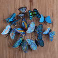 10 PCS Wedding Bridal Luxury Hair Accessories Jewelry Butterfly Hair Clip Barrette Hairpin For Women Girls