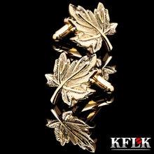 Kflk ювелирный светильник желтое золото запонки для рубашки