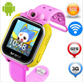 Original jm13 3g smart watch cámara gps lbs wifi kids reloj Supervisan el Perseguidor SOS de Alarma Para IOS Android smartwatch pk q90 q60