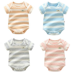 100% Cotton Baby Bodysuit Body Newborn Clothing Summer