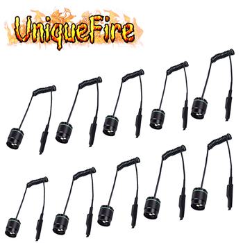 UniqueFire 10 pcs/lot Dual Control Remote Pressure Switch Rat Tail Button For UF-1508 IR Light Night Vision Flashlight LED Torch