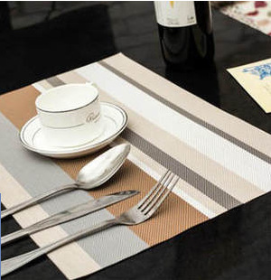 Lekoch New Kitchen Table Mat Eco Friendly Striped Drawer Liner Wardrobe Pad  Cupboard Placemat Moistureproof PVC 30*45cm Mat In Mats U0026 Pads From Home ...